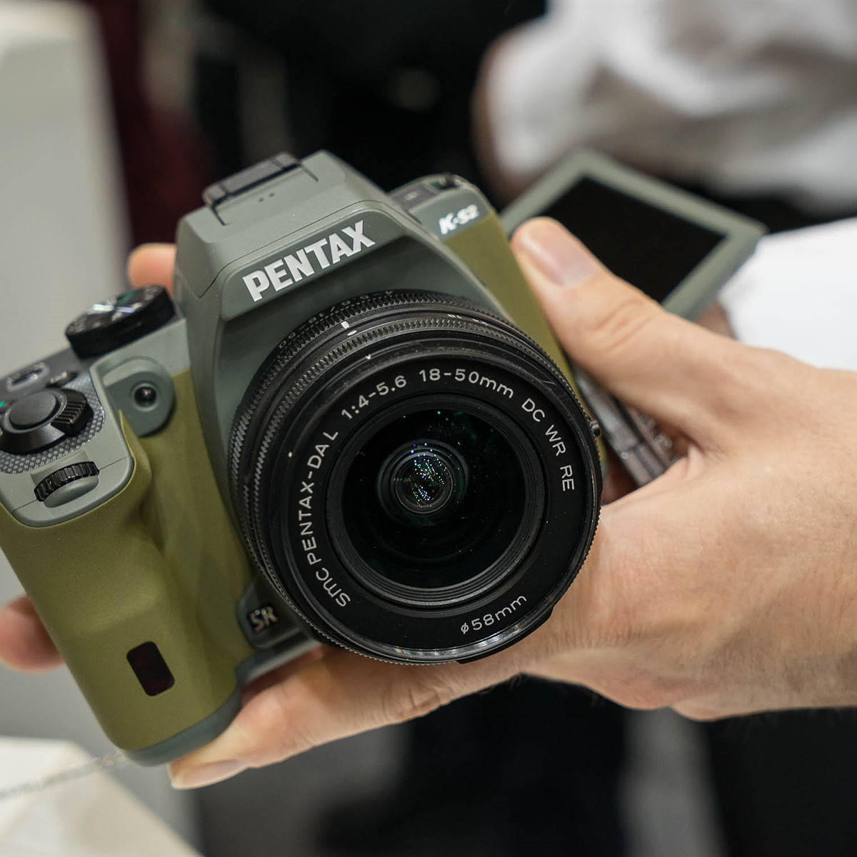 Black Pentax K-S2 18-135 mm Digital SLR Camera with Lens