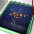"""Video: Brendan Barry makes 20"""" x 24"""" wildflower image using camera obscura and color reversal process"""