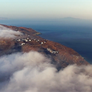 Stunning 'orbital drone-lapse' captured by flying a drone in huge circles