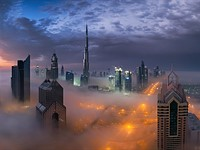 Photo of the week: Dubai draped in fog