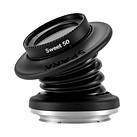 The Lensbaby Spark 2.0 lens makes you squeeze and tilt it to focus