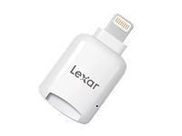 Lexar offers microSD dongle with an Apple Lightning connector