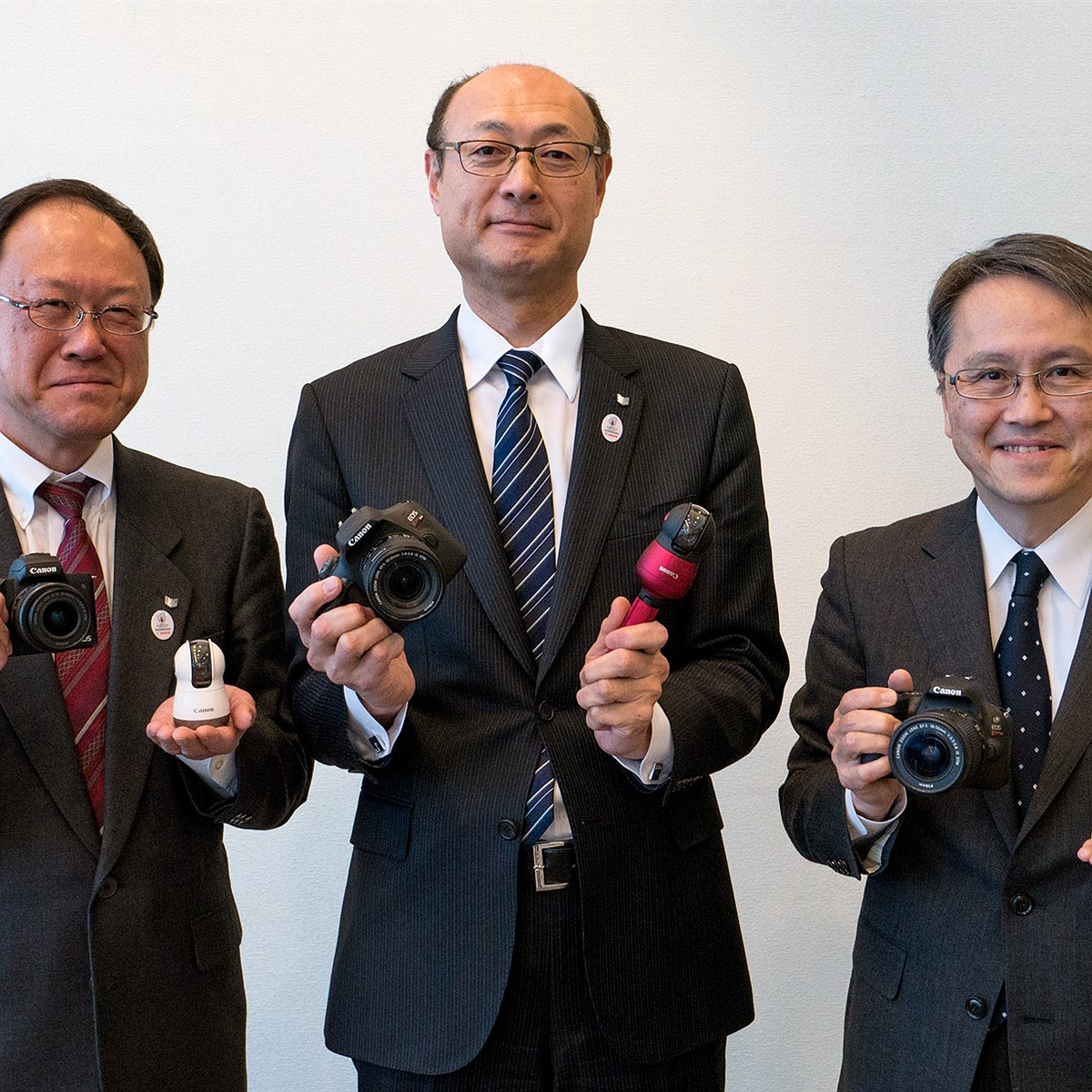 Canon interview: 'increased competition allows us to level