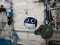 Japan's space agency has an adorable ball-shaped camera drone on the ISS