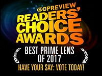 Have your say: Best prime lens of 2017