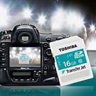 Toshiba brings TransferJet wireless SD cards to Europe