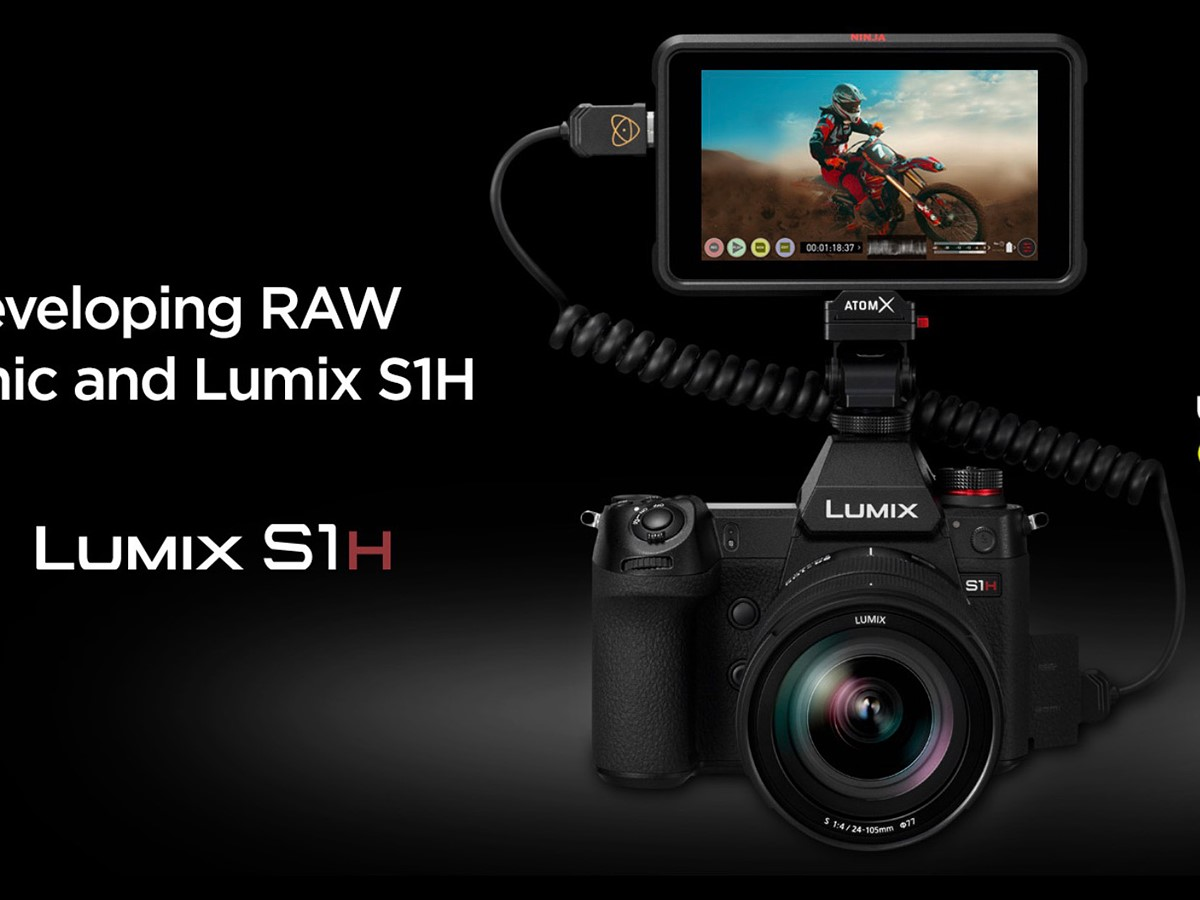 Atomos and Panasonic to co-develop Raw video for the Panasonic S1H