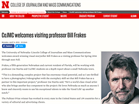 Photographer Bill Frakes loses university position after sexual harassment report