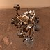 NASA Curiosity rover captures 360 panorama from its Vera Rubin Ridge 'Rock Hall' drill site