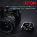 Kipon adapter to allow AF with Canon lenses on Micro Four Thirds bodies