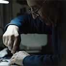 'Camera Master' Gian Luigi Carminati has been repairing cameras for almost 60 years