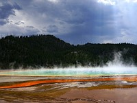 Filmmakers who walked on Grand Prismatic in Yellowstone get jail time and fines