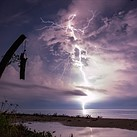 Striking: Photos from a lightning hotspot in Venezuela