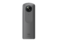 Ricoh Theta V captures 360-degree 4K video