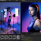 Practice your portrait lighting in lockdown with this virtual studio program