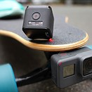 GekkoGum is an adhesive mount for action cams and smartphones