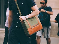 48Hr Switch camera briefcase doubles as a backpack and messenger bag