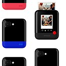 "The Polaroid Pop instant digital camera produces 3 x 4"" prints"
