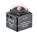 Kodak PixPro SP360-4K 360-degree camera unveiled