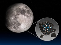 NASA uses infrared imaging to discover water on sunlit surface of the Moon