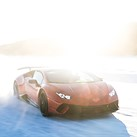Behind the scenes: Shooting Lamborghinis in the snow