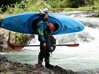 Kayaking the White Salmon river with Rush Sturges and the Panasonic Lumix DC-S1H