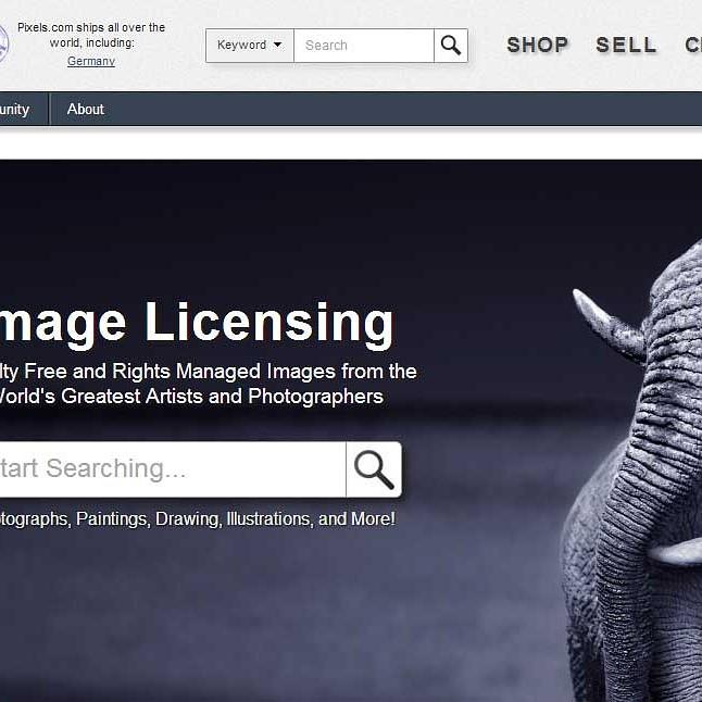 Pixels com licensing service promises full control of images