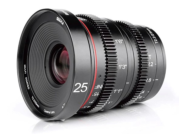 5ba82353f5f Meike launches new 25mm T2.2 cine lens with  decent build quality  for MFT  camera systems