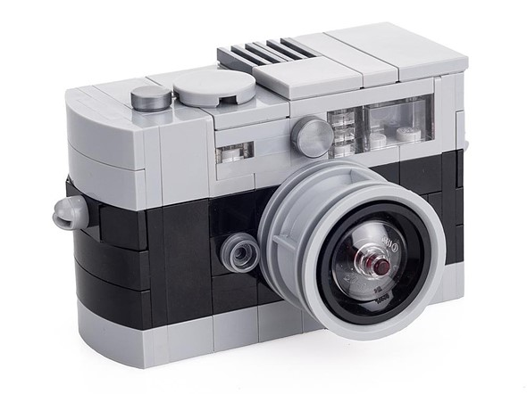 These LEGO Leica M cameras are tiny, blocky versions of iconic