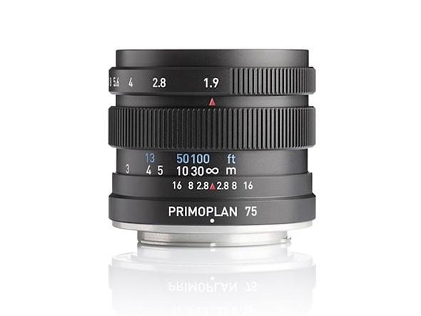 Meyer Optik Görlitz releases redesigned Primoplan 75mm F1.9 II lens for a handful of mounts