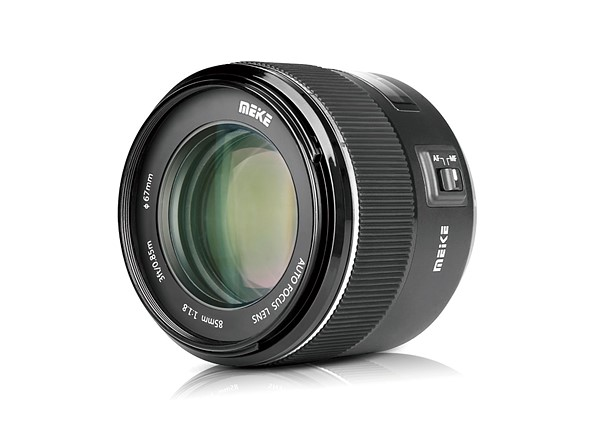 Meike's first autofocus lens is a new 85mm F1.8 prime that costs just $190