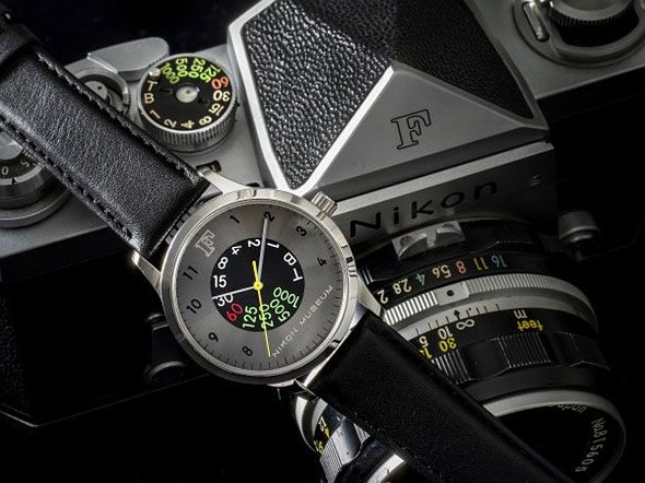 Nikon F 60th anniversary sale includes a special wristwatch