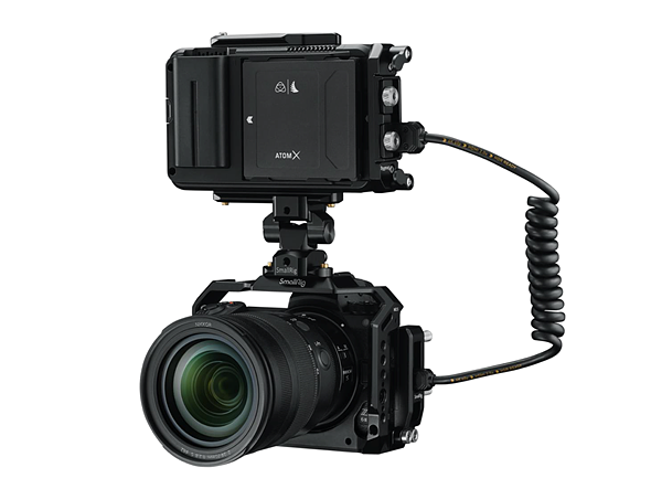 Atomos is working on a Ninja V update to brings 12-bit 4K/30p ProRes RAW to Nikon Z6 II, Z7 II cameras