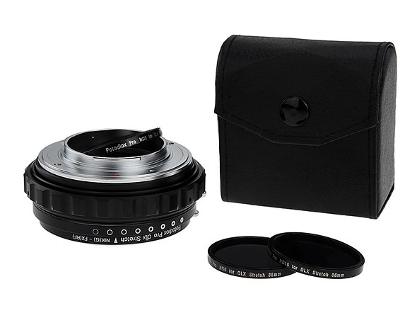 Fotodiox's DLX Stretch adapters feature a built-in extension tube for macro photography 2