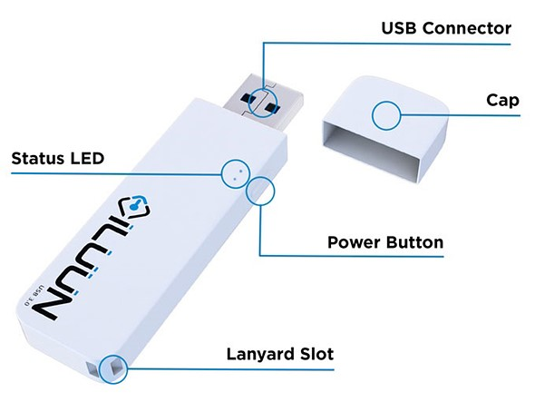 iLUUN Air is a wireless USB 3.0 flashdrive for your smartphone 2
