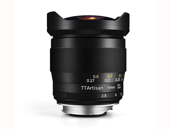 TTArtisans 11mm 2 - TTArtisan launches 11mm F2.8 fisheye lens for Sony E-mount systems