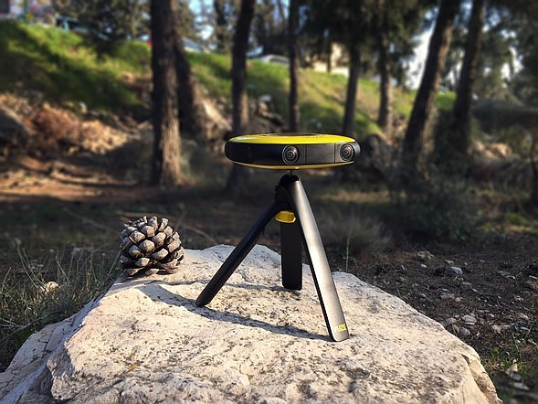 HumanEyes Technologies shows off Vuze VR 360 degree 3D camera 2