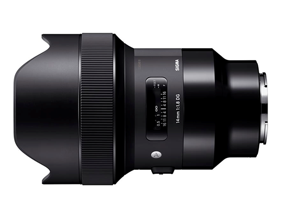 232786548fc Sigma is now shipping the 14mm F1.8 DG HSM