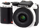 Pentax Ricoh discontinues K-01 K-mount mirrorless camera
