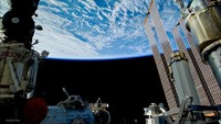 DSLR time-lapse images from the International Space Station