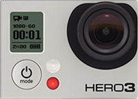 GoPro Hero 3 Black Edition goes 4k, while re-bodied Hero 2 gets 'pro' output