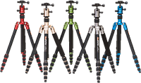 Benro adds colorful, convertible travel tripod/monopod to MeFOTO range