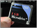 Rob Galbraith publishes 1GB Microdrive report