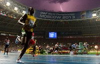 AFP sports photographer captures double 'lightning' bolt