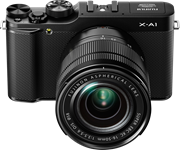 Fujifilm unveils X-A1: an entry-level mirrorless with a conventional sensor