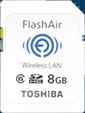 """Toshiba announces its first """"Flash Air' WiFi SDHC card"""