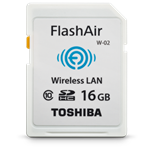 Toshiba ups capacity and speed of its Wi-Fi SD card