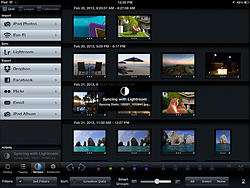How to transfer photos from iphoto to lightroom 4