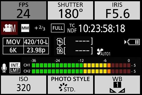 Panasonic Lumix DC-S1H review in progress: Digital