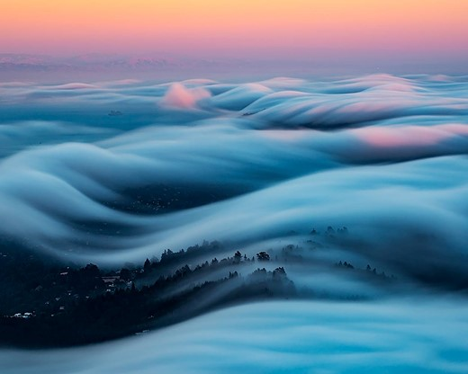 Fog waves: photographer Nick Steinberg captures nature in motion 8